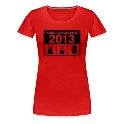TAGESABLAUF 2 - Frauen Premium T-Shirt