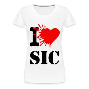 Frauen T-shirt I Love SiC - Frauen Premium T-Shirt