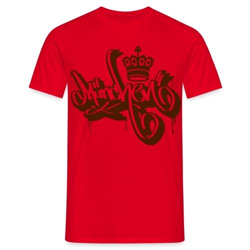 König Stadt München - Ultras Graffiti Shirt - Männer T-Shirt