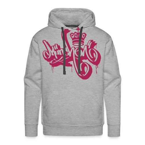 König Stadt München - Ultras Graffiti Shirt - Männer Premium Hoodie