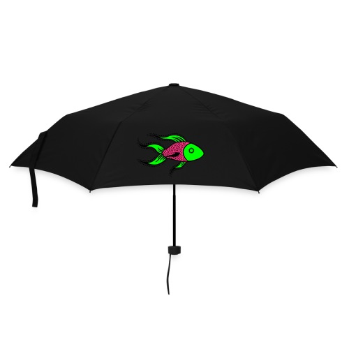 Funky fish umbrella - Umbrella (small)