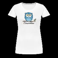 T-Shirts ~ Frauen Premium T-Shirt ~ Flauschkauz