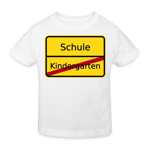 Schulanfänger - Kinder Bio-T-Shirt