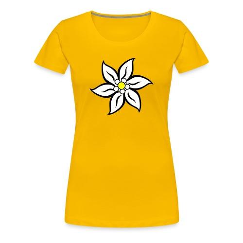 EDELWEIß - Frauen Premium T-Shirt