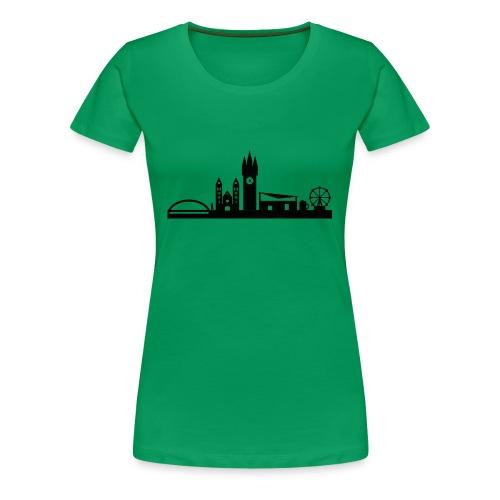 STRAUBING SILHOUETTE - Frauen Premium T-Shirt