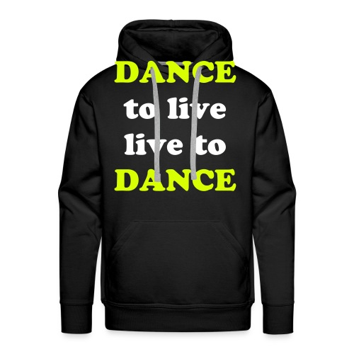 DANCE SWEATER MEN - Mannen Premium hoodie
