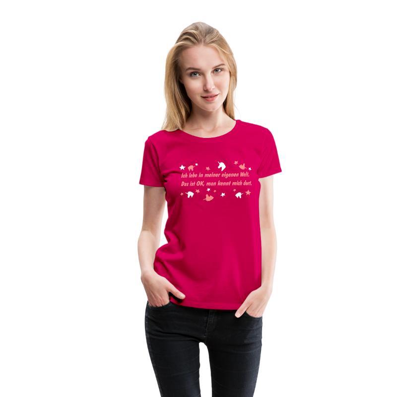 lustiger t-shirt spruch mit einhorn t-shirt   spreadshirt