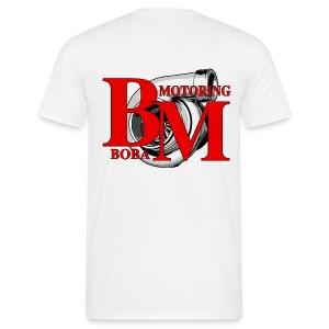 Boba-Motoring Fan-Shirt Rückseite - Männer T-Shirt