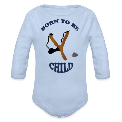 Born to be child by Lola - Baby Bio-Langarm-Body