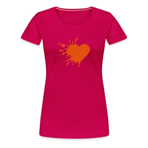 Love Hurts (Flockdruck) - Continental Classic Girlie - Frauen Premium T-Shirt