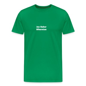 ted baker - who? joe baker is where its at (You Choose The colour of this T Shirt) - Men's Premium T-Shirt