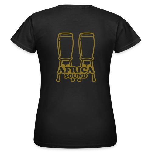 africasound woman - T-shirt Femme