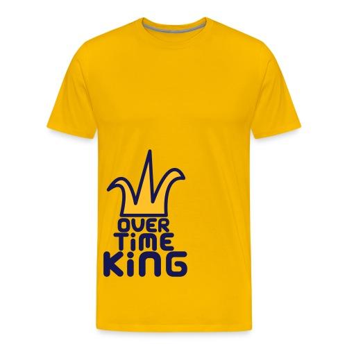 OverTimeKing - byfour - Men's Premium T-Shirt