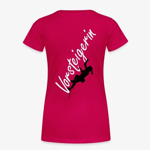 Vorsteigerin (women) - Frauen Premium T-Shirt