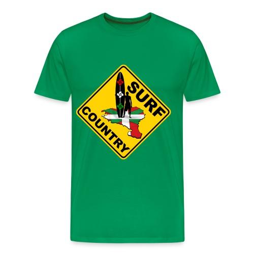 Surf Pays Basque - Men's Premium T-Shirt