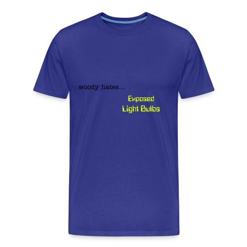 Exposed Light Bulbs - Mens - Men's Premium T-Shirt