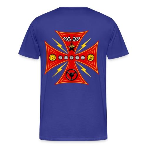 Racing cross t-shirt - Men's Premium T-Shirt