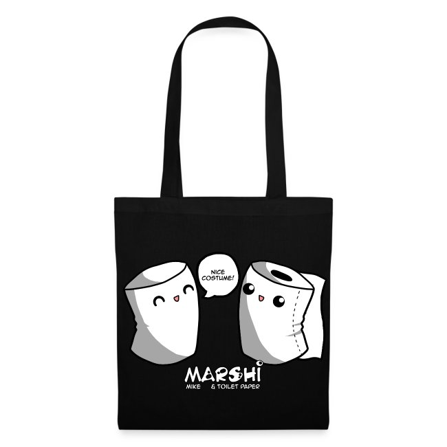 Marshi Mike & Toilet Paper by Chosen Vowels - Tasche