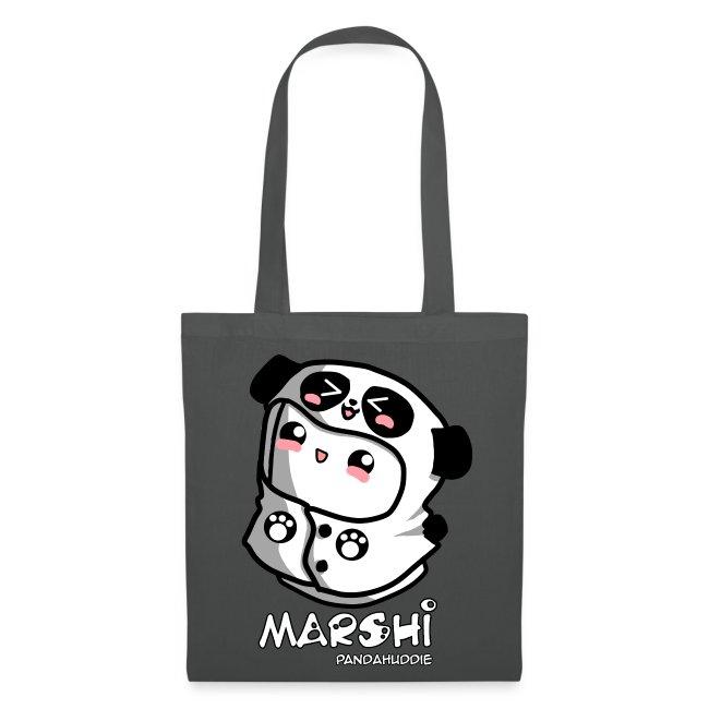 Marshi Panda Hoodie by Chosen Vowels - Tasche