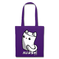 Marshi Kitty Marshmallow by Chosen Vowels - Tasche