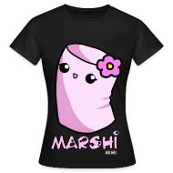 Marshi Mimi Marshmallow by Chosen Vowels - Shirt Girls