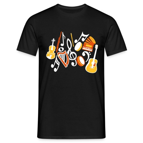 TTT Irish Music Fan - Men's T-Shirt