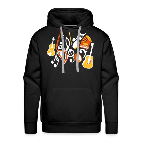 TTT Irish Music Fan - Men's Premium Hoodie