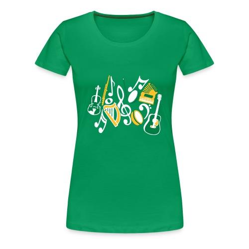 TTT Irish Music Fan - Women's Premium T-Shirt