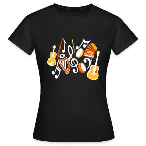 TTT Irish Music Fan - Women's T-Shirt