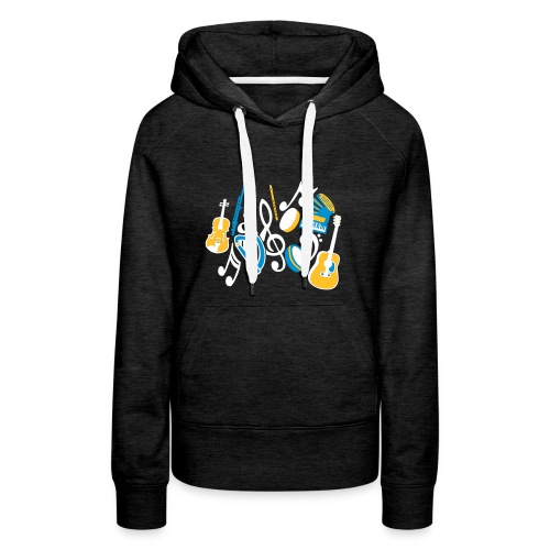 TTT Irish Music Fan - Women's Premium Hoodie