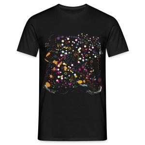 TTT Paint Splash - Men's T-Shirt