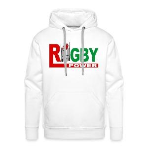 Rugby Basque power - Sweat-shirt à capuche Premium pour hommes