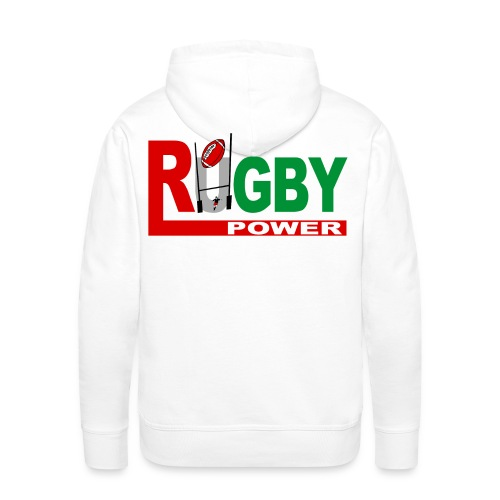 Rugby Basque power - Sweat-shirt à capuche Premium pour hommes