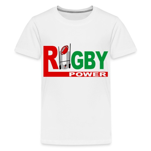 Rugby Basque power - T-shirt Premium Ado