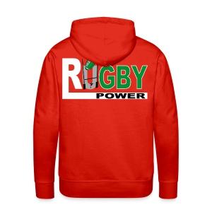 Rugby basque sport - Sweat-shirt à capuche Premium pour hommes