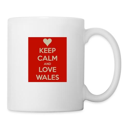 Keep Calm And Love Wales Cup - Mug