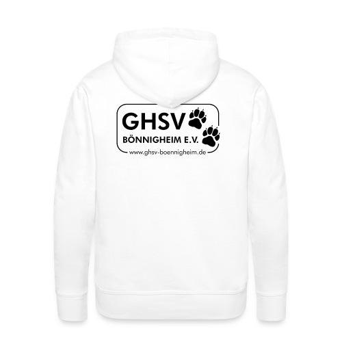 GHSV Herren-Kapuzenpullover mit Maskottchen - Männer Premium Hoodie