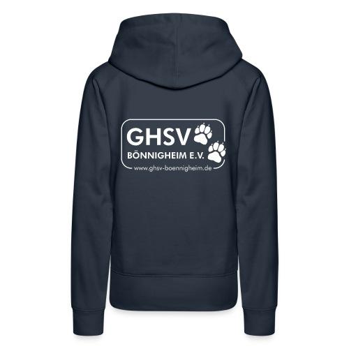 GHSV Damen-Kapuzenpullover ohne Maskottchen  - Frauen Premium Hoodie