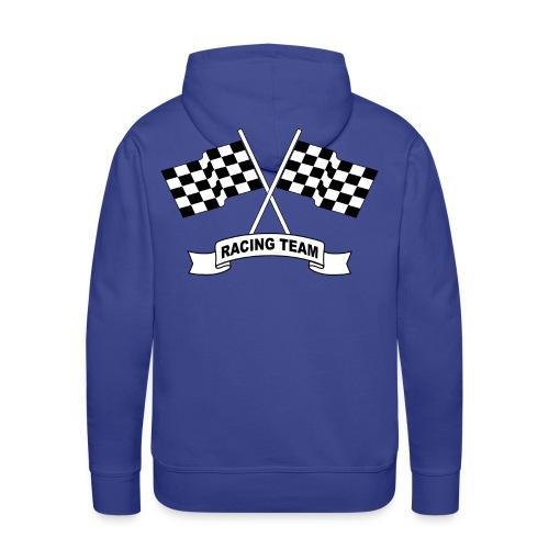 racing team flags - Men's Premium Hoodie