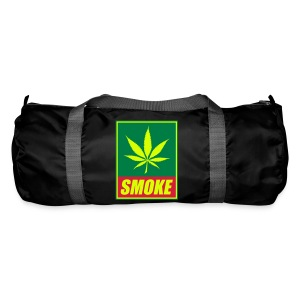 sac inscription SMOKE et feuille de cannabis - Sac de sport
