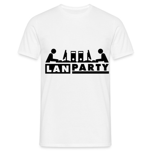 LanParty t-shirt - Herre-T-shirt