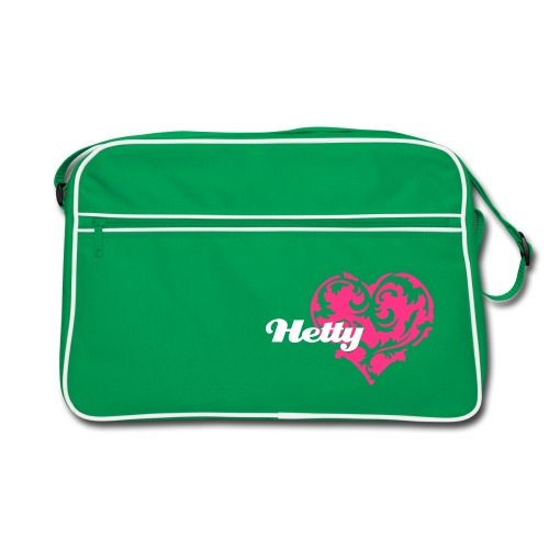 Hetty logo retro bag - Retro Bag