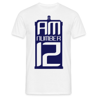 T-Shirts ~ Men's T-Shirt ~ I Am Number 12