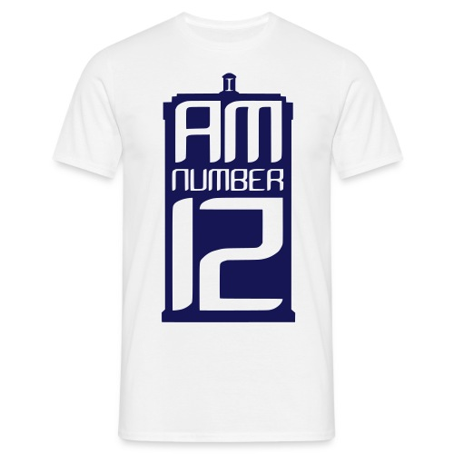 I Am Number 12 - Men's T-Shirt