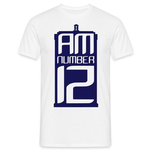 I Am Number 12 - Men's T-Shirt