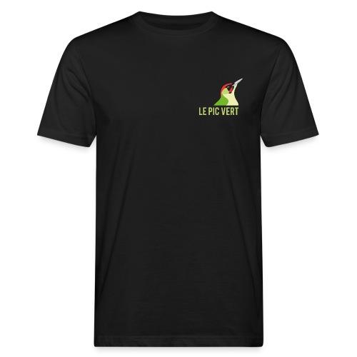 Tee shirt homme coton bio  Pic Vert - T-shirt bio Homme