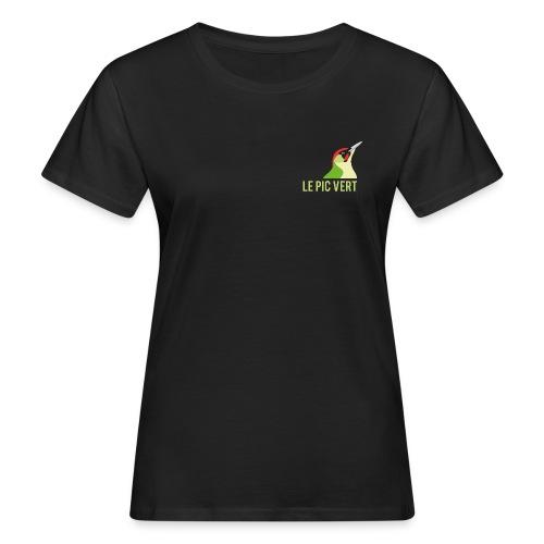 Tee shirt femme coton bio Pic Vert - T-shirt bio Femme