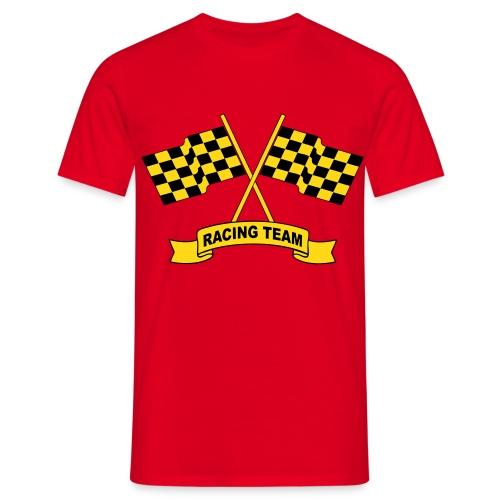 Racing flags team - Men's T-Shirt