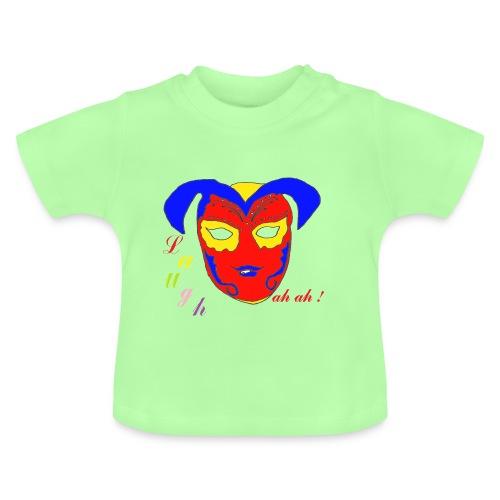 TS VERT BEBE LAUGH AH AH  - T-shirt Bébé