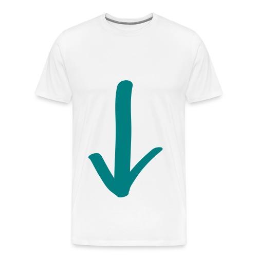 Giù T-Shirt Traps - Maglietta Premium da uomo